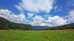 summer landscape. timelapse - stock footage