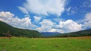 Summer landscape. timelapse Stock Footage