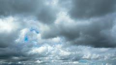 rain clouds, timelapse - stock footage