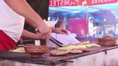 Barbecue fest (bbq board) _1 Stock Footage