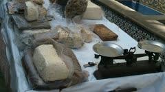 Hashish market maroc Stock Footage
