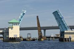 roosevelt bridge - stock photo