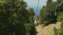 Ride on Island of Capri, Italy (3) Stock Footage