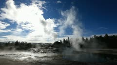 Grotto Geyser Stock Footage