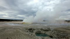 Valley of Geysers - stock footage