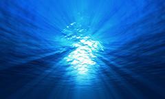 Light underwater Stock Photos