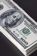 u.s. dollar - stock photo