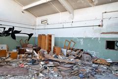 Abandoned factory Stock Photos