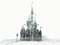 Castle - 3D model