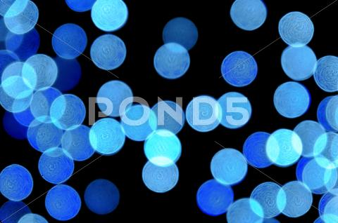 Stock photo of blue lights