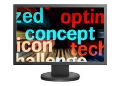 Web concept Stock Photos