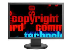 web copyright - stock photo