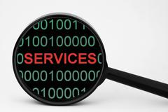 web services - stock photo