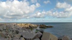Danish island bornholm Stock Footage