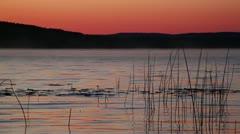 Platte Lake Dawn Loop Stock Footage