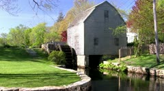 Grist mill 3 Stock Footage
