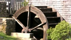 Grist mill 4 Stock Footage