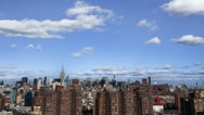 Stock Video Footage of Manhattan Housing Projects Timelapse