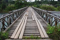 Timber bridge Stock Photos