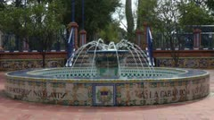 Andalusian Fountain Stock Footage