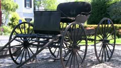 Horse carriage Stock Footage