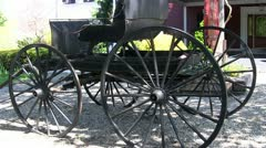 Horse carriage 3 Stock Footage
