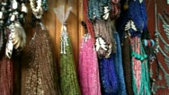 Stock Video Footage of arabic beads marketplace