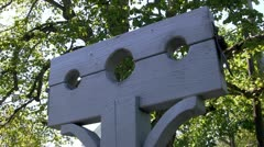 Stock pillory torture 2 Stock Footage