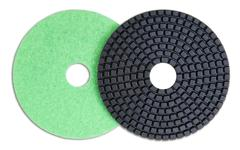 polishing pads - stock photo