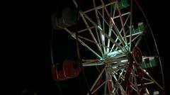 Amusement park  _1 Stock Footage
