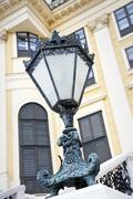 Decorative outdoor lamp. Stock Photos