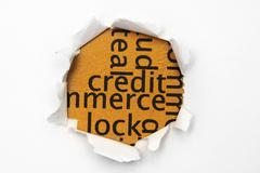 Credit concept Stock Photos