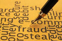Fraud concept Stock Photos