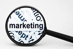 marketing - stock photo