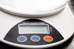 Cooking scale Stock Photos