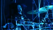 Stock Video Footage of drummer at a concert
