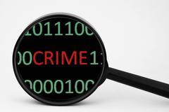 web crime - stock photo