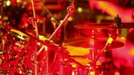Stock Video Footage of drummer at a concert 4