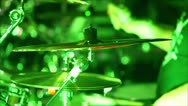 Stock Video Footage of drummer at a concert 6