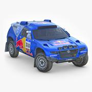 Volkswagen Touareg 2 Rally 3D Model