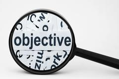 objective - stock photo