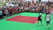 Streetball Stock Footage