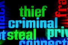 Stock Photo of web criminal