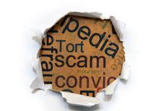 Scam concept Stock Photos