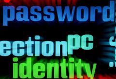 web security - stock photo