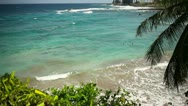 Stock Video Footage of Tropical Paradise Beach, Hana, Maui