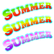 Sign summer Stock Illustration