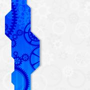 Stock Illustration of abstract machine board frame