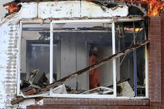 House fire arson accident destruction 7890.jpg - stock photo