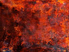 Hot lava Stock Photos